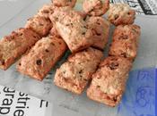 Mini-cookies-cakes flocons d'avoine pépites chocolat