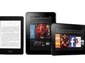 Amazon Kindle Paperwhite devient nouvelle référence, Fire s'attaque Apple
