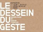 "Dessein Geste"" Design tradition s'estime"