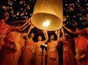 Peng, nuit lanternes Thaïlande Yang Photo