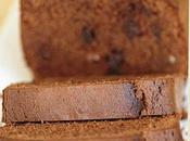 Cake chocolat écorces d'orange confites