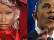 président Obama très perspicace sujet rime politique Nicki Minaj