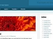 thèmes gratuits pour WordPress Septembre 2012