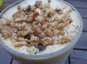 Dessert: Tiramisu îles Mangue, Confiture Lait, Barres Céréalières Cannelle