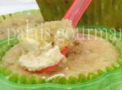Muffins kiwi, cœur fondant philadelphia