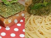 spaghettis pesto