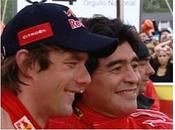 Rallye d'Argentine Diego Maradona co-pilote Sébastien Loeb