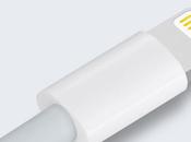 câble Lightning l'iPhone muni d'une puce d'authentification