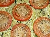 Tomates four julienne courgettes