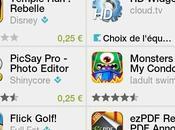 Google Play Nouveau jour promos