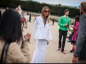 Entrées sorties Fashion Week 2012, Paris.