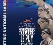 Camille Muffat Yannick Agnel meeting natation Puy-en-Velay