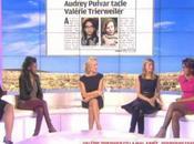 Audrey Pulvar dément avoir taclé Valérie Trierweiler: J'ai pris défense