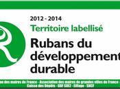 Rubans Développement Durable décernés collectivités