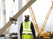 Eolien record battu pales géantes Siemens