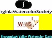 Aquarellistes américains Carnet liens Partie Virginia American watercolorists Links book