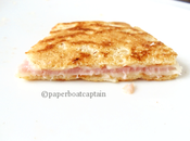 Crêpe salée improvisée levure boulanger