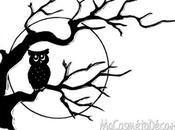 """""""The black owl"""", nouveau """"chouette"""" décor pour Halloween"""