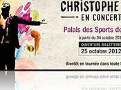 Christophe Tournée Concerts 2013