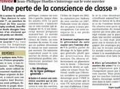 Interview dans Journal Centre (rectificatif inclu