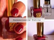 plus beau rouge l'automne… Estée Lauder Hautes! (swatch)