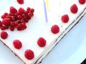 recette Gâteau d'anniversaire caramel poire