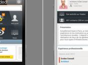 Viadeo fait evoluer (enfin) appli mobile
