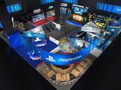 Découvrez plan stand liste jeux PlayStation lors