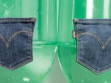 jeans faits avec bouteilles plastiques Avec Levi's, c'est possible