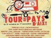 Festival Tour Pays concerts dans villes 7euros