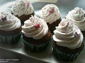 Cupcake chocolat noix coco (sans gluten, sans lactose)