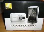Nikon S800c Test d'une smartcam sous Android