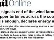 Royaume-Uni annonce éoliennes