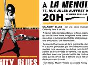 Calamity Blues novembre Menuiserie (Pantin)
