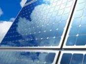 Énergie solaire gros nuages