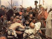Cosaques zaporogues écrivant lettre Sultan Mahmoud Turquie