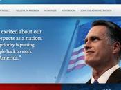 Mitt Romney diffuse erreur site internet victoire