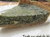 Tarte vert blettes tofu soyeux