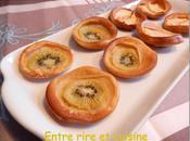 Mini-Clafoutis Kiwis pommes