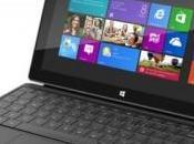 Concurrence iPad Surface Microsoft fait débuts modestes