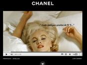 Chanel l'enregistrement inédit Marilyn Monroe