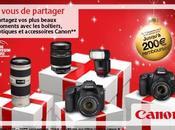 Cashback pour Noël chez Canon