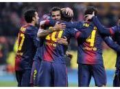 Qualification Barcelone joie d'une équipe