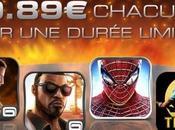 jeux Gameloft iPhone passent pour temps limité 0.89 €...