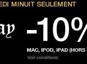 Black Friday remise produits Apple (MacBook, iPad, iPod) durant Fnac