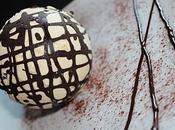Mousse Caramel Beurre Salé dans Cage Chocolat