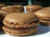 premiers macarons chocolat