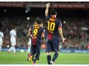 Lionel Messi chasse buts continue