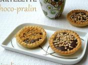 Mini tartelettes chocolat pralin façon rocher suchard