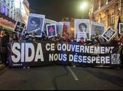Manifestation journée mondiale lutte contre SIDA